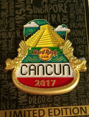 Hard Rock Cafe Cancun 2017 City Icon Series
