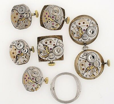 Longines Ladies Watch Movements For Spares Some With Signed Crowns K25