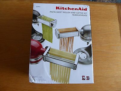 New KitchenAid 3-Piece Pasta Roller Attachment For Stand Mixers (5KPRA)