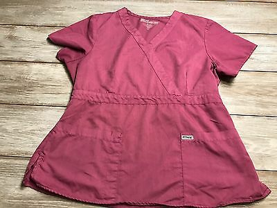 Women's Greys Anatomy Scrub Top Size XL