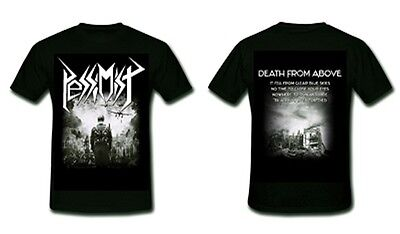 PESSIMIST  Death From Above  T-Shirt  Größe Size S - Oldschool Thrash Metal Band