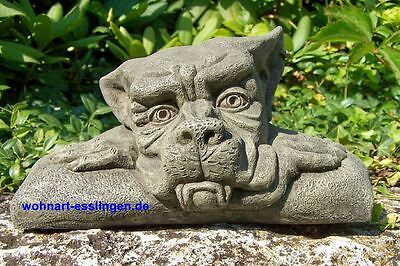 DS72s mini Wall Top Gargoyle links orginal Devonshire Statuary Steinguss