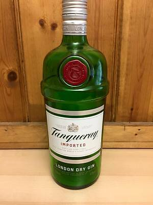 Empty Tanqueray Gin Bottle - Upcycle Craft Display Breweriana