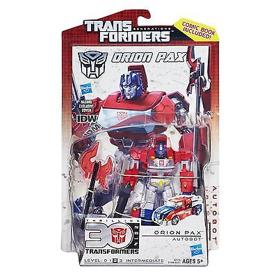 TRANSFORMERS Deluxe Generations IDW Orion Pax ACTIONFIGUR