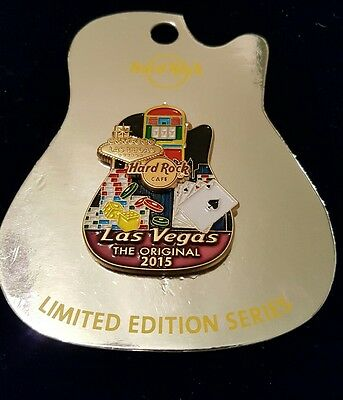 Hard Rock Cafe Las Vegas The Original  Icon Series Pin ** SOLD OUT**   LE 100