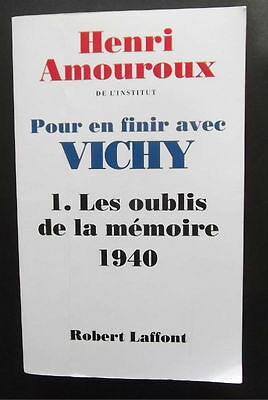 old FRENCH WW2 VICHY BOOK RACINES PASSIONS HENRI AMOUROUX