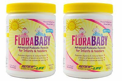 Renew Life, FloraBaby for Kids, 2.1 Ounce - set of 2