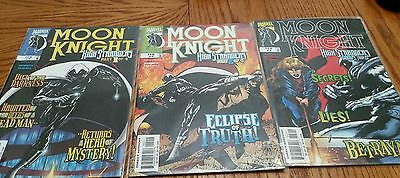 marvel moon knight comic lot