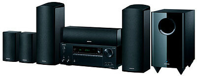 Onkyo - 5.1.2-Ch Network A/V Receiver/Speaker Package - HT-S7805B