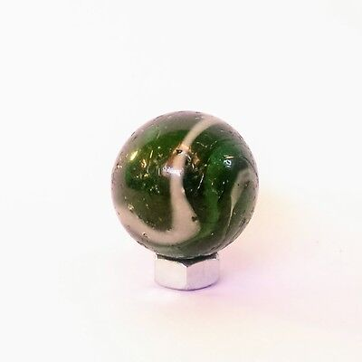 Vintage Marble, Green and White 18 mm