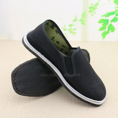 Kung Fu Martial Arts Tai Chi Shaolin  Men's shoes Casual Bruce Lee shoes slipper