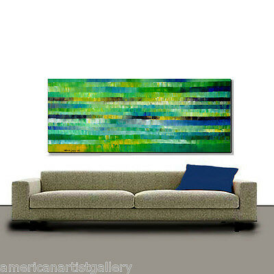 VERY LARGE 30x60 Original signed  Painting Ready To Hang Fine Art By Thomas John