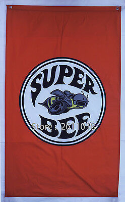 2017 NEW car racing flag banner flags 3x5FT free shipping for Super bee Flag -1