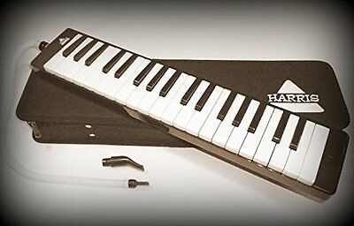 Harris Musical Brand - Great 37 Key Black Melodica & Deluxe Carrying Case