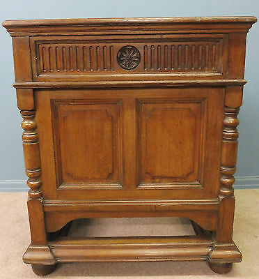 Antique Oak Gillows Councillors  Desk From Lancaster Town Hall