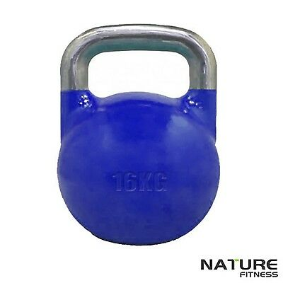 Nature Fitness16kg Competition Kettlebell for Strength Workout Gym Training