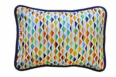 New Arrivals Accent Pillow, Rhapsody in Blue