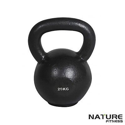 20kg Russian Classic Steel Kettlebell Gym Kettle Bell Weights Training Strength