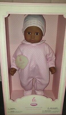 Pottery Barn Kids Gotz Baby Doll Natasha New In Box