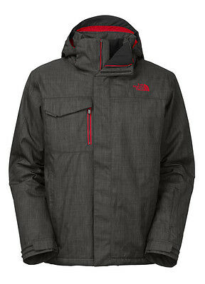The North Face 2016 Hickory Pass Jacket Asphalt Grey - Large