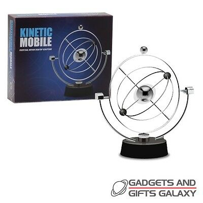 KINETIC MOBILE CONTINUALLY SPINS science discovery desktop toy gift adults child