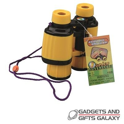 JUNIOR BINOCULARS EXPLORERS discovery science toy gift childs kids novelty