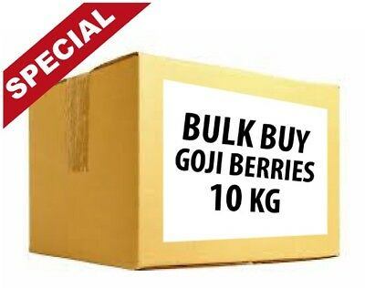 Bulk Goji Berries 10Kg - Free Shipping