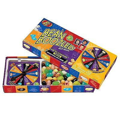 Jelly Belly Bean Boozled with Spinner Wheel Game 4th Edition 3.5 Ounce