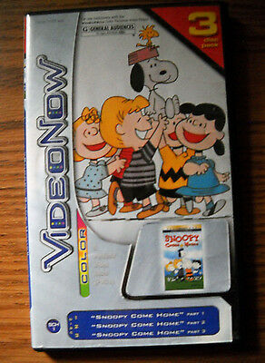 Video Now Videonow Color Snoopy Come Home 3 Disc Pack