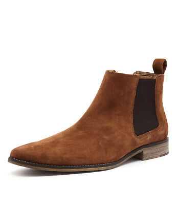 New Croft Camden Saddle Mens Shoes Dress Boots Ankle