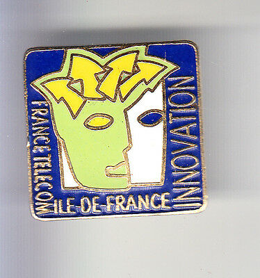 Rare Pins Pin's .. Ptt La Poste France Telecom Art Moderne Innovation 75 ~Bq