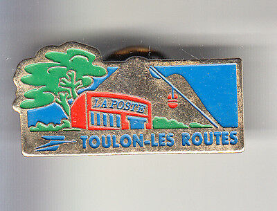 Rare Pins Pin's .. Ptt La Poste Telepherique Les Routes Var Toulon 83 ~Bx