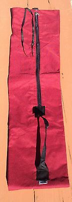 The North Face Cross Country Ski Bag / Carrying Case - Burgundy - Vintage Tnf