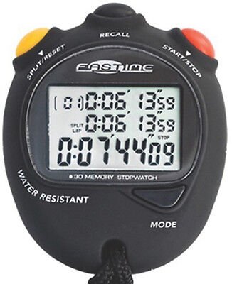 Fastime DB3 Cumulative Split Timing Waterproof Protective Cases Stopwatch