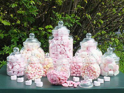 12 Jar Party Pack from jars2u with 2 Scoops &100 Blue Sweet Bags- Birthdays etc