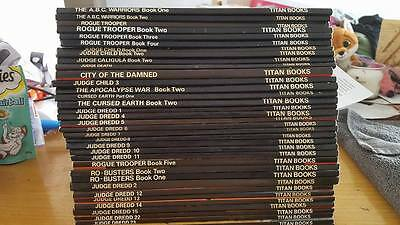 36 2000 AD Graphic Novels from Titan Books