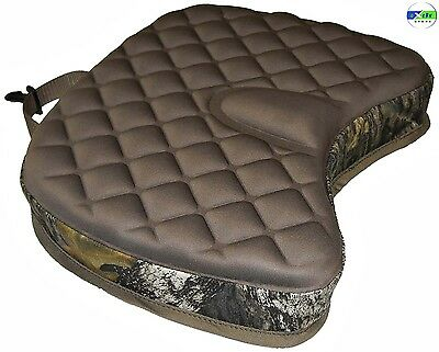 Camo Cushioned Seat Bag Vest Hook Cell Foam Hunting Fishing Pvc Thick Portable