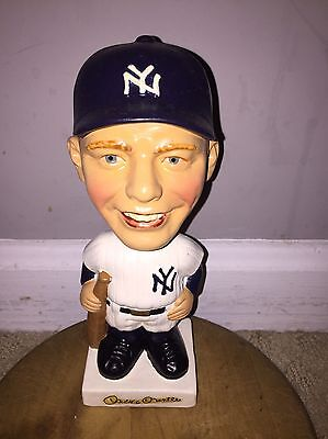 Early 1960's Original Mickey Mantle White Base Bobble Head Nodder