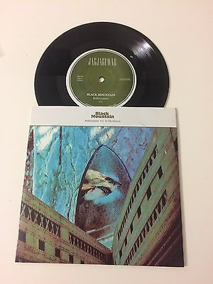 """Black Mountain - Rollercoaster / In The Drones 7"""" 45rpm Jag 195 EX+/M"""