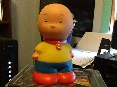 "Caillou 6"" Plastic Squeak Toy by Famosa"