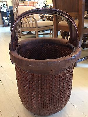 Chinese Woven Rice Basket