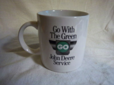 go with the green John Deere service Model D 1924 - 1953 tractor MUG vintage