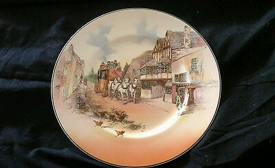 Royal doulton old English coaching scenes plate