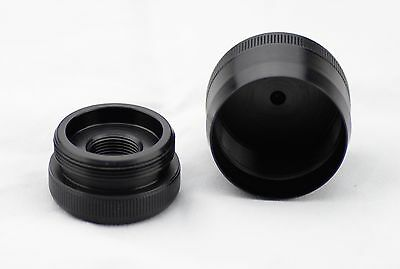 New! Maglite D Cell Cap set 1/2-28 Replacement made from 7075 T6 Aluminum
