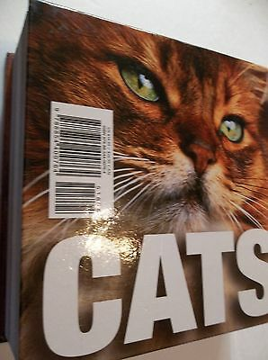 CATS,HARDBACK BOOK BY CUBE-BOOK WHITE STAR PUBLISHERS-736 PAGES-reg.$18.95