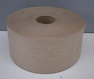 """(10 Rolls) LOK-IT Water Activated Reinforced Gummed Paper Tape 3"""" x 450ft"""