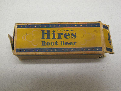 Vintage Hires Root Beer home recipe extract - 3 oz. Bottle - with instructions