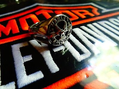 Vintage Harley Davidson Ring Factory HD Motorcycle Dealership Jewelry Size 7