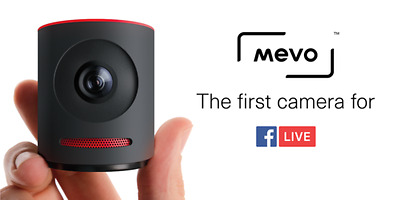 Mevo Live Event Camera with the Mevo Boost