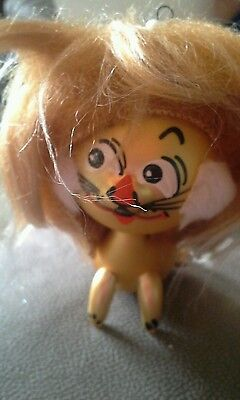 Lion Glass Ornament with Mane Made in Italy Painted Face